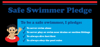 safe swimmer pledge